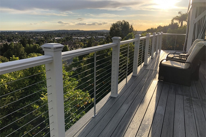 Feeney Project Showcase: CableRail in Trex Transcends railing