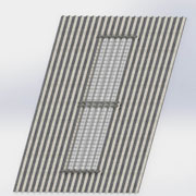 Flat Skylight Defender for Metal/Corrugated Roofs