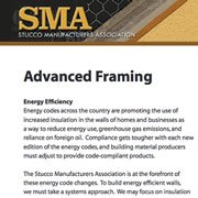 Framing & Energy Efficiency