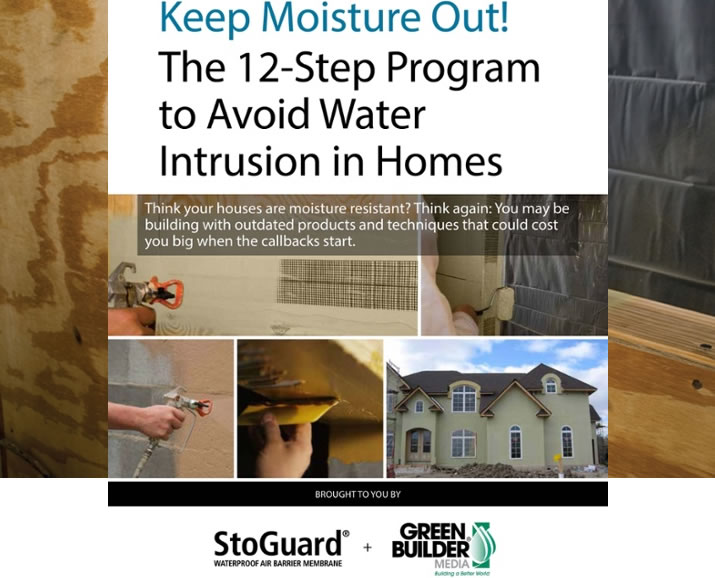 Free eBook! The 12-Step Program to Avoid Water Intrusion in Homes