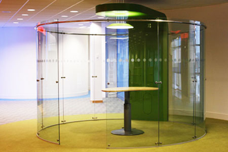 Aecinfo Com News Freestanding Glass Partitions From Avanti