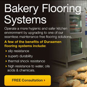 Get a FREE Consultation for Bakery Flooring Systems