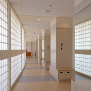Glass Block Walls and Partitions for Businesses
