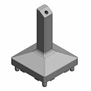 Glass Railing Posts from eGlass Railing