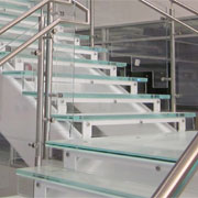 Glass Treads from Global Glass Railings