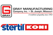 Gray Manufacturing Company, Inc., Stertil BV, Stertil-Koni U.S.A., Inc., and Stertil ALM Corp, enter into Settlement Agreement