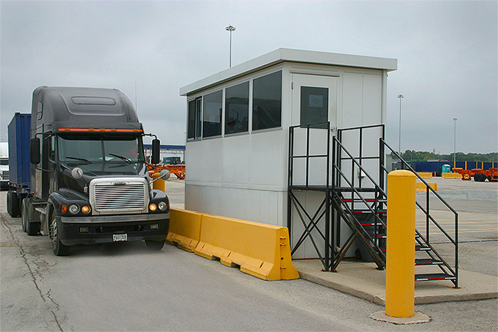 Guard Booth Industrial Applications