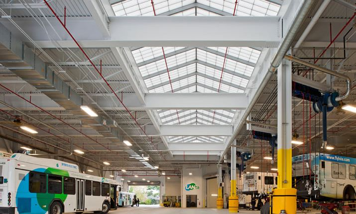 Guardian 275® translucent skylights provide a wide range of color, thermal performance and specialty application options