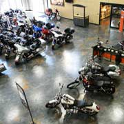 Harley Davidson Dealership Chooses REFLECTOR™ Enhancer Flooring System