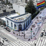 Harvey Milk Plaza Re-design Competition reveals three shortlisted designs, invites public comment