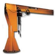 Heavy-Duty Pillar Base Mounted Jib Crane from Hayes Trading Co.