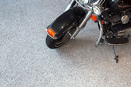 HERMETIC™ Flake Floors Make Great Color Flake Epoxy Systems