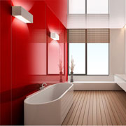 High Gloss Acrylic Wall Panels - Back Painted Glass Alternative