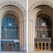 Historic Victory Building Retrofits Entrance and Lobby