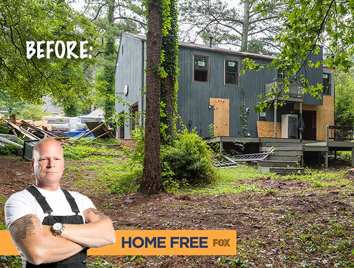Home Free - the Reality Show with a Heart - features Feeney CableRail