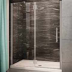 How to Compare an Acrylic Shower Pan to a Cultured Marble or Granite Base