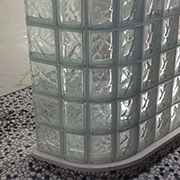 How to Design a Curved Glass Block Shower or Partition Wall