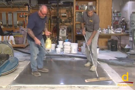 How To Polish Concrete Toppings