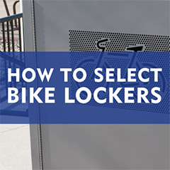 How to select a bike locker: the best bike security solution
