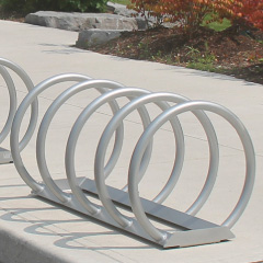 How to select commercial bike racks