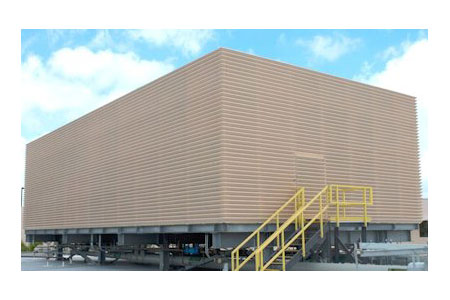 Hurricane Roof Equipment Screens From Architectural Louvers