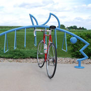 Imagine, Inspire, Create with Madraxs Custom Bicycle Racks