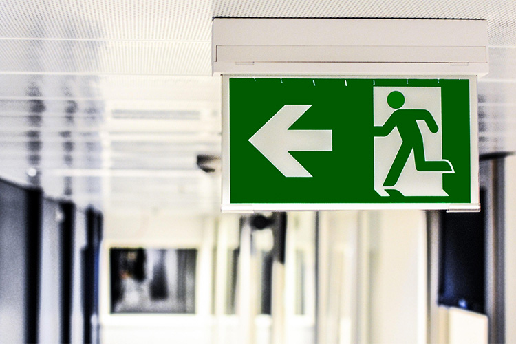 Easy and Efficient Evacuation Plan for Staff