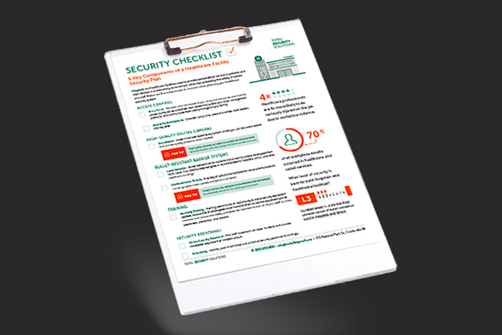 Improve hospital security with: 5 Key Components of a Healthcare Facility Security Plan