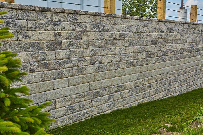 Integrity Retaining Wall System Fulfills Structural and Design Requirements of Expansive Retaining Wall Project
