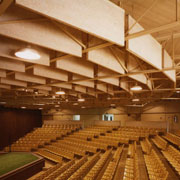 Interior Acoustical Panels: Hanging Baffles