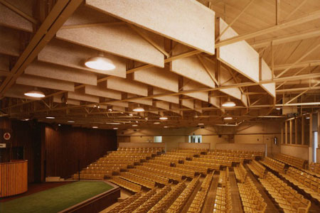 Aecinfo Com News Interior Acoustical Panels Hanging Baffles