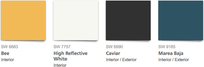 Introducing the 2017 color of the year for Sherwin williams color of the month october 2017