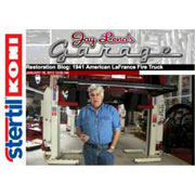 Jay Leno Selects Stertil-Koni Heavy Duty Vehicle Lifts for 70 Year-old Fire Truck Restoration