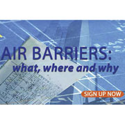 Join the SMA Lunch Meeting on September 16, 2015: Air barriers, What Where & Why