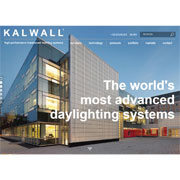 KALWALL® Website Gets New Look: Site That Reflects Its Ability to Combine Beauty and Efficiency