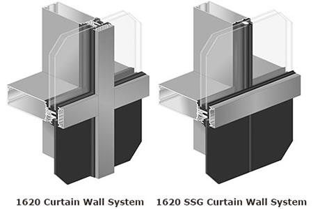 Superb Kawneeru0027s New 1620/1620 SSG Curtain Wall System Features A Slim Sightline  So You Can