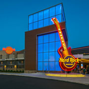 Kawneer Projects: Hard Rock Rocksino Northfield Park