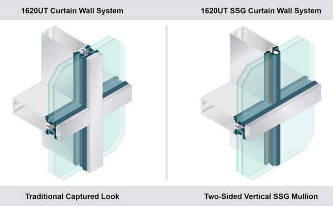 Kawneer's New Curtain Wall Delivers Ultra Thermal Performance With A Slim Sightline