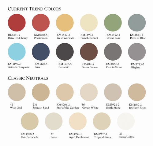 AECinfo.com News: Kelly-Moore Paints Top Color Picks to Enliven ...