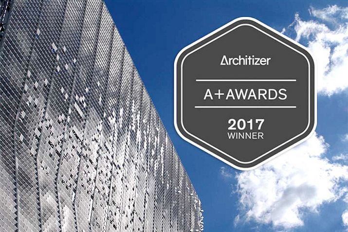 KINETICWALL wins 2017 Architizer A+ Award