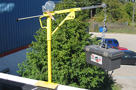 Cranky Portable Winch System Mounting Posts From