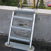 Parapet Back Ladder System