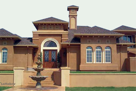 News lahabra fastwall stucco and high for Mission stucco