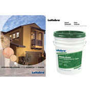 LaHabra's Perma Flex meets the growing demand for stucco finishes in tradition or nontraditional areas