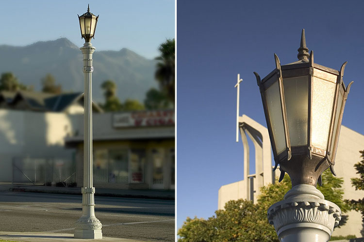 Lake Avenue light poles restoration - Pasadena, California
