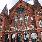 Landmark Restoration - The Cincinnati Music Hall in Ohio