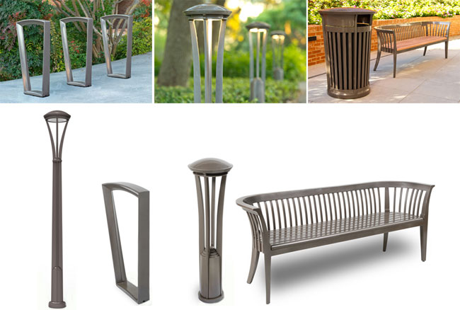 aecinfo com news landscape forms introduces a new collection