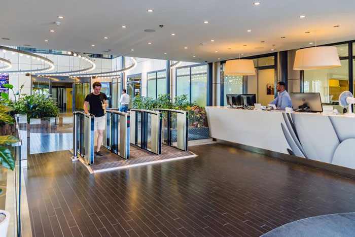 Liberty Global Elevates Entrance Security with Boon Edam Turnstiles, Security Revolving Doors