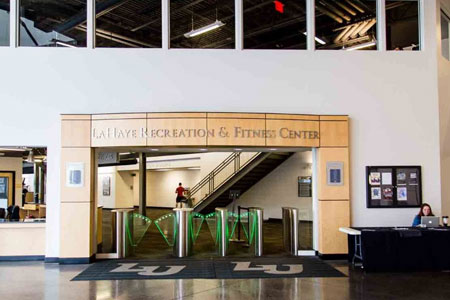 Liberty University Recreational Center Protects Students with Boon Edam Optical Turnstiles