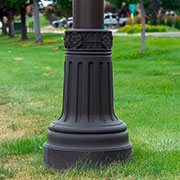 Light Post Bases from TerraCast Products